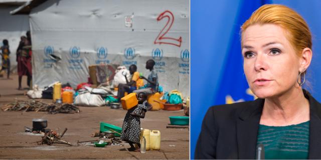 Flyktingläger i Uganda / Inger Støjberg TT