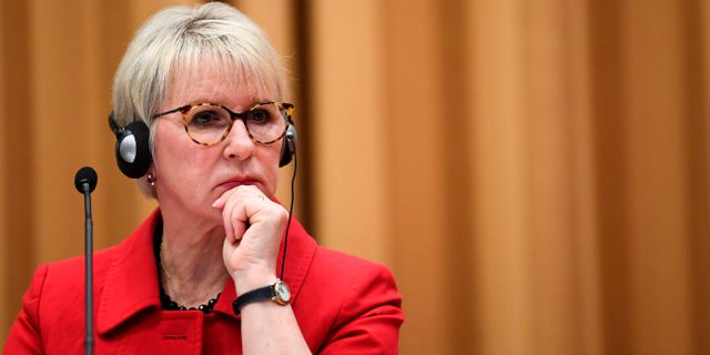 Margot Wallström. Arkivbild. JONATHAN NACKSTRAND / AFP