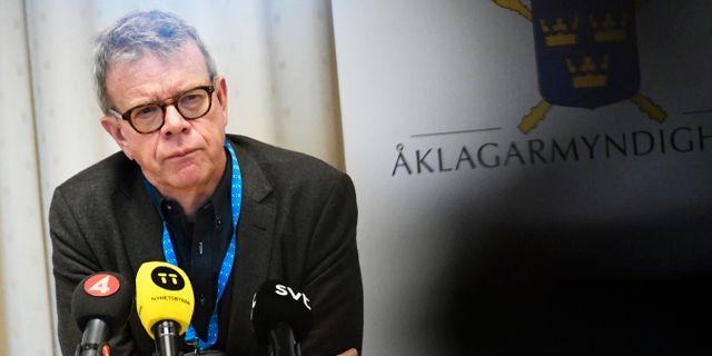 Thomas Ahlstrand. Björn Larsson Rosvall/TT / TT NYHETSBYRÅN