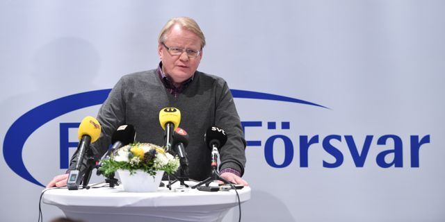 Peter Hultqvist (S). Henrik Montgomery/TT / TT NYHETSBYRÅN
