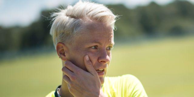 Nilla Fischer.  Björn Larsson Rosvall/TT / TT NYHETSBYRÅN
