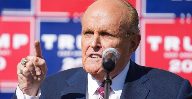 Rudy Giuliani. John Minchillo / TT NYHETSBYRÅN