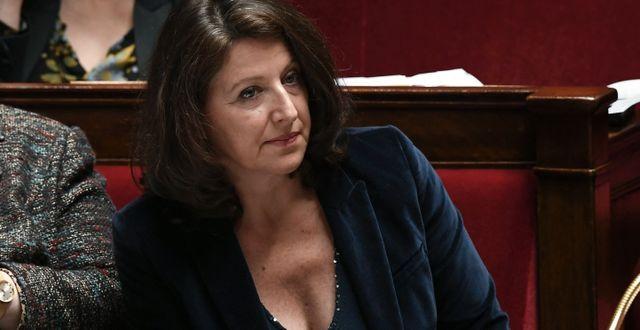 Frankrikes hälsominister Agnes Buzyn är ny kandidat i borgmästarvalet i Paris. PHILIPPE LOPEZ / AFP