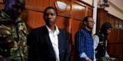Rashid Charles Mberesero, Mohamed Ali Abikar och Hassan Edin Hassan döms för att ha planerat attacken.  BAZ RATNER / TT NYHETSBYRÅN
