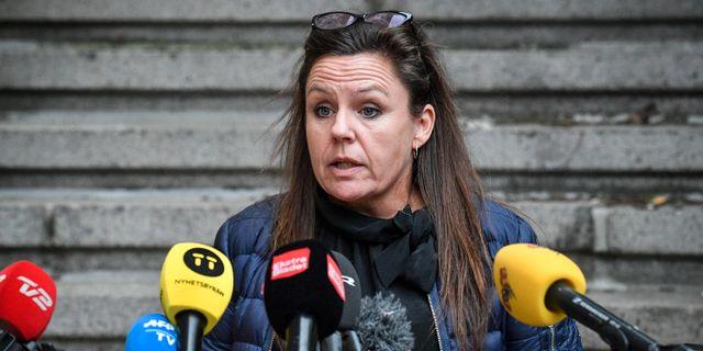 Betina Hald Engmark. Johan Nilsson/TT / TT NYHETSBYRÅN