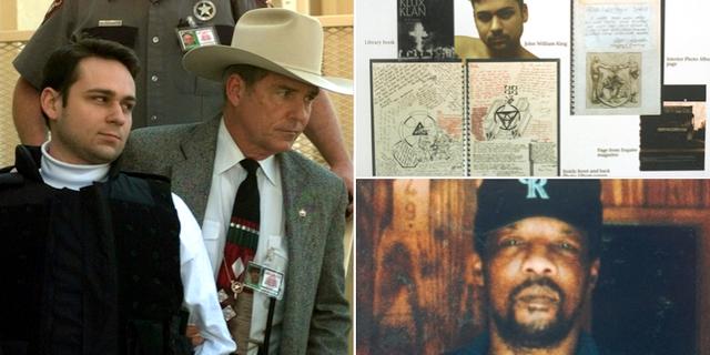 John King förs till rätten 1999/Föremål som hittades vid husrannsakan hos John King/Mordoffret James Byrd.