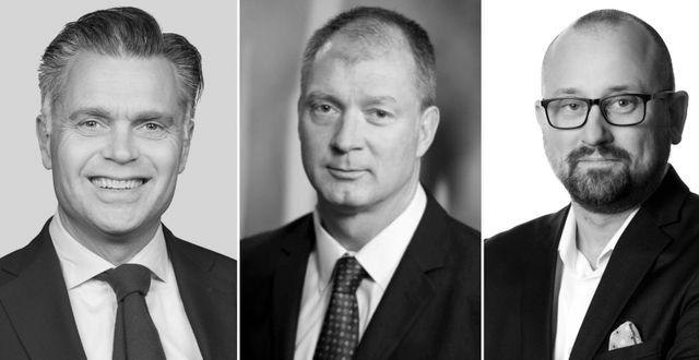 Mattias Sundling, Stefan Cederberg och Robert Oldstrand. Pressbilder