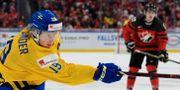 Alexander Nylander under finalen på JVM i ishockey mellan Sverige och Kanada den 5 januari 2018. JOEL MARKLUND / BILDBYRÅN