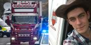 Mo Robinson körde lastbilen där kropparna hittades.  TT/ Facebook