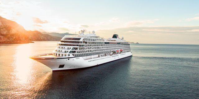 Viking Sun har 465 hytter, alla med balkong. Viking Cruises