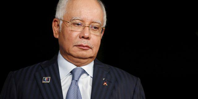Najib Razak Olivia Harris / TT NYHETSBYRÅN