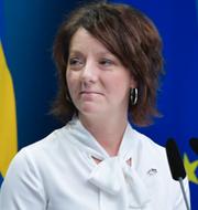 Matilda Ernkrans.  TT