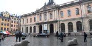 Börshuset på Stortorget där Svenska Akademien håller till. Arkivbild. Fredrik Sandberg/TT / TT NYHETSBYRÅN