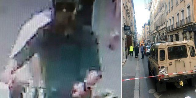 Övervakningsbilder visar den misstänkte mannen.  TT/ Police Nationale