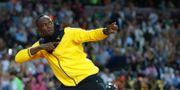 Usain Bolt. Matt Dunham / TT NYHETSBYRÅN