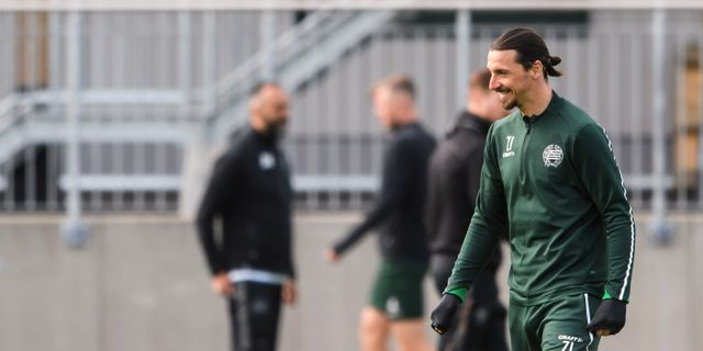 Zlatan Ibrahimovic. MAXIM THORE / BILDBYRÅN