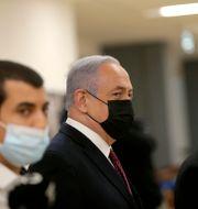 Benjamin Netanyahu.  Alex Kolomoisky / TT NYHETSBYRÅN