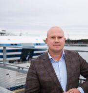 Tallink Siljas vd Marcus Risberg. Nils Petter Nilsson/TT / TT NYHETSBYRÅN