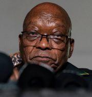 Jacob Zuma Shiraaz Mohamed / TT NYHETSBYRÅN