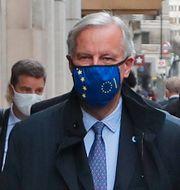Michel Barnier.  Frank Augstein / TT NYHETSBYRÅN