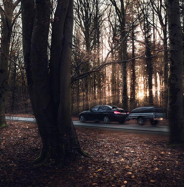 Bild på produkt från en av Storskogens senaste förvärv - båttrailer från Bernderup. Storskogen.