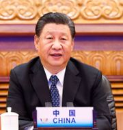 Arkivbild: Kinas president Xi Jinping.  Huang Jingwen / TT NYHETSBYRÅN