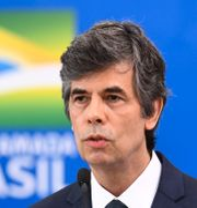 Brasiliens avgående hälsominister Nelson Teich. EVARISTO SA / TT NYHETSBYRÅN