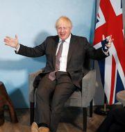 Boris Johnson.  Peter Nicholls / TT NYHETSBYRÅN