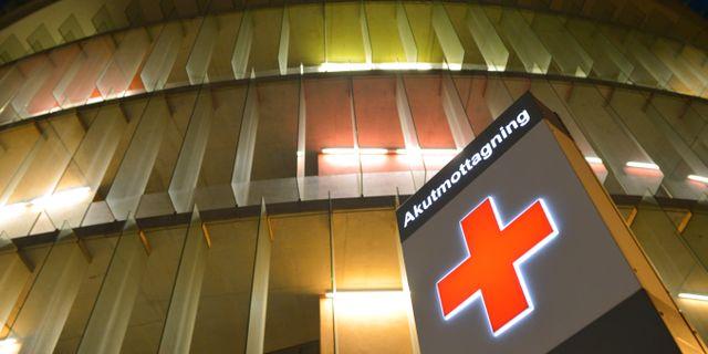 Akutmottagningen vid Skånes universitetssjukhus i Malmö. Johan Nilsson / TT / TT NYHETSBYRÅN