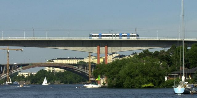 Stora Essingen. Arkivbild.  Fredrik Sandberg/TT / SCANPIX