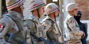 Militära styrkor i Sinai. Arkivbild.  Mohamed Abd El Ghany / TT NYHETSBYRÅN