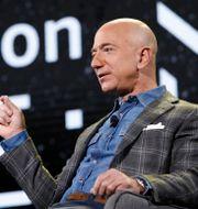 Amazons grundare och vd Jeff Bezos. John Locher / TT NYHETSBYRÅN