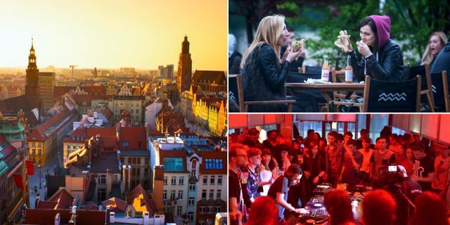 Krakow har sin egna förtjusande variant av nöjeshak. Forum Przestrzenie / Thinkstock