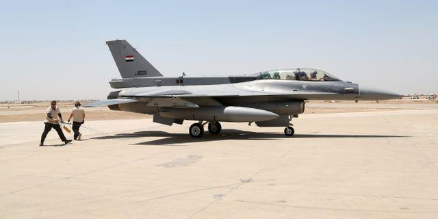 Iraks F16-plan.  Khalid Mohammed / TT / NTB Scanpix