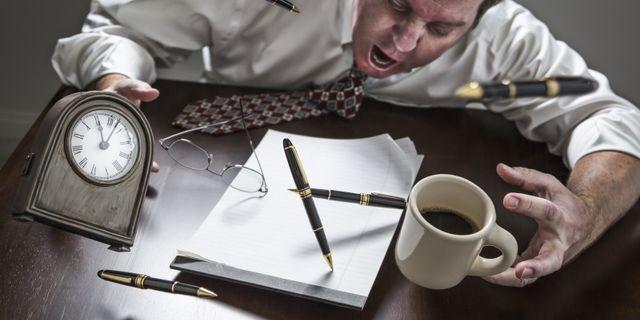 Minskad produktivitet och ökad sjukfrånvaro med LAS. Mostphotos