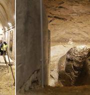 Förra veckan öppnade en av flykttunnlarna under Berlinmuren. TT Nyhetsbyrån