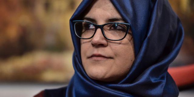 Hatice Cengiz, Jamal Khashoggi fästmö. Arkivbild. TT NYHETSBYRÅN/ NTB Scanpix