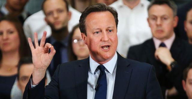 David Cameron CHRISTOPHER FURLONG / POOL