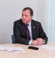 Isabella Lövin och Stefan Löfven i mars 2020.  Ninni Andersson/Regeringskansliet / TT NYHETSBYRÅN