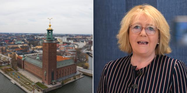 Finansregionrådet Irene Svenonius.  TT