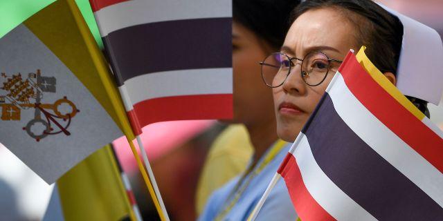 En kvinna i Thailand/illustrationsbild.  MOHD RASFAN / AFP