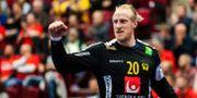 Mikael Appelgren knyter näven. LUDVIG THUNMAN / BILDBYRÅN