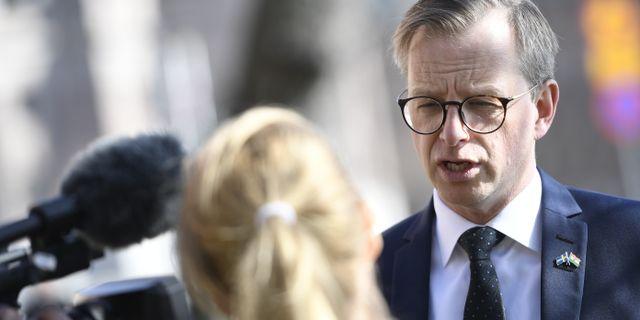 Arkivbild: Näringsminister Mikael Damberg (S) Henrik Montgomery/TT / TT NYHETSBYRÅN