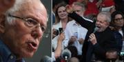 Bernie Sanders och Lula da Silva. TT