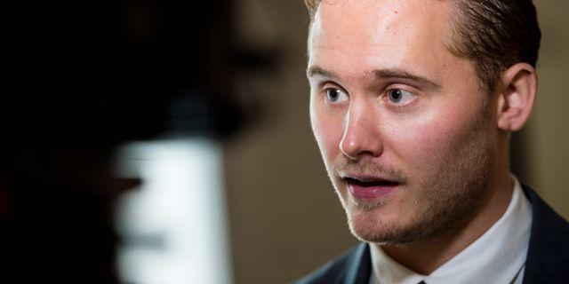 Henrik Vinge. PONTUS LUNDAHL / TT / TT NYHETSBYRÅN