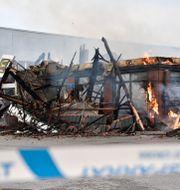 I september i år brann en McDonald'srestaurang i Årsta ner. Lars Schröder/TT / TT NYHETSBYRÅN