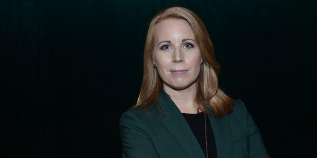 Annie Lööf.  Stina Stjernkvist/TT / TT NYHETSBYRÅN