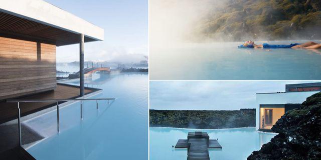 Islands nya spahotell Resort at Blue Lagoon ligger på en 800 år gammal lavaström. Resort at Blue Lagoon