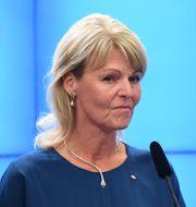 Handelsminister Anna Hallberg (S). Jonas Ekströmer/TT / TT NYHETSBYRÅN