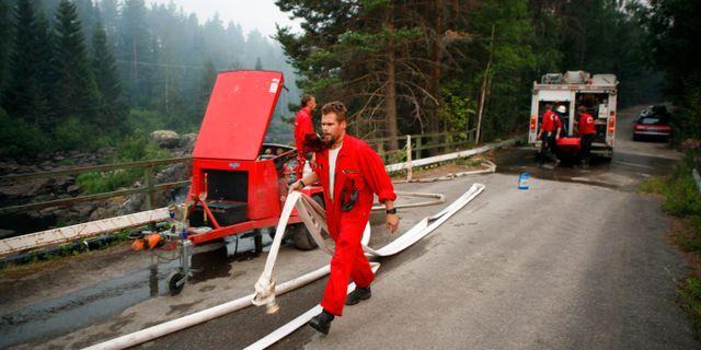 Bild från söndagen. Mats Andersson/TT / TT NYHETSBYRÅN